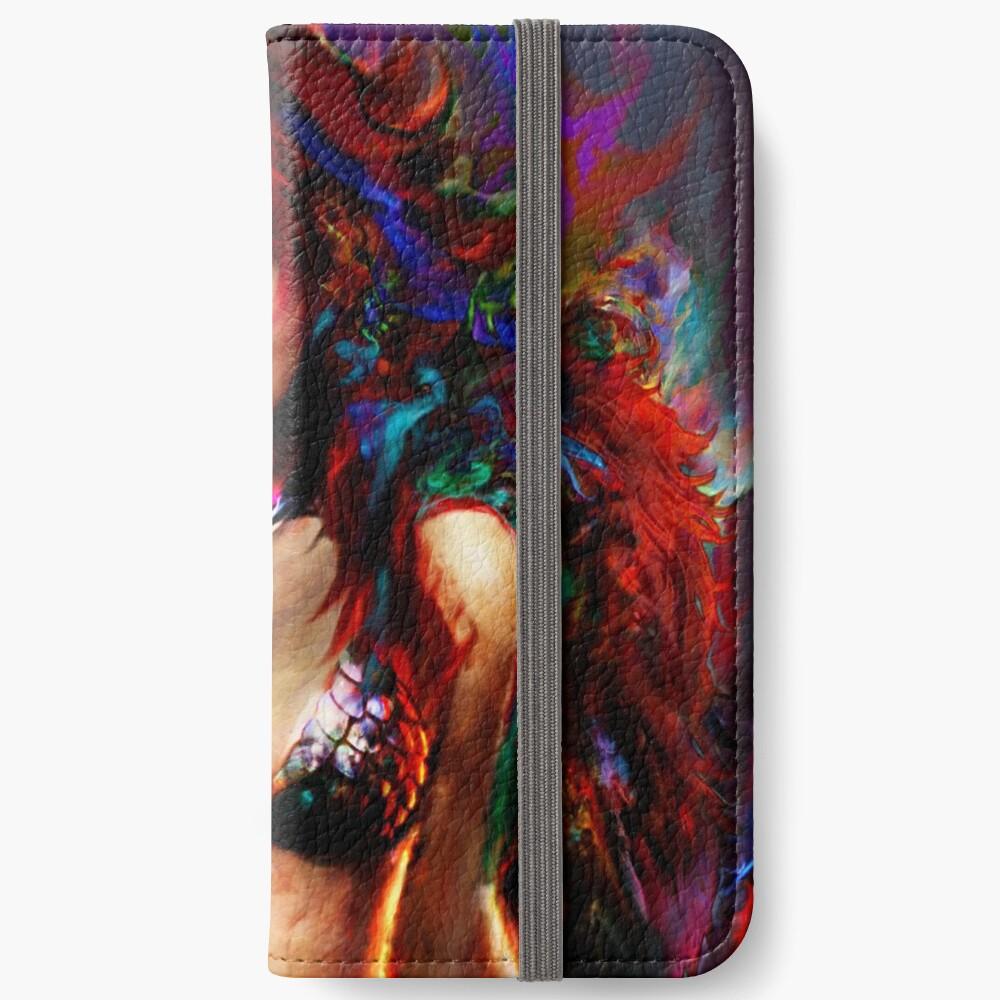 rote Sonja iPhone Flip-Case
