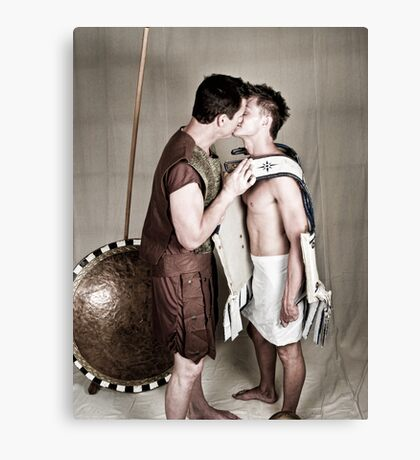 LOA - Alexander and Hephastion 2 Canvas Print