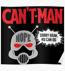 Can't Man Poster