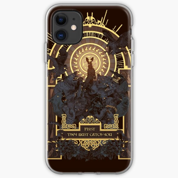 First They Must Catch You iPhone Soft Case