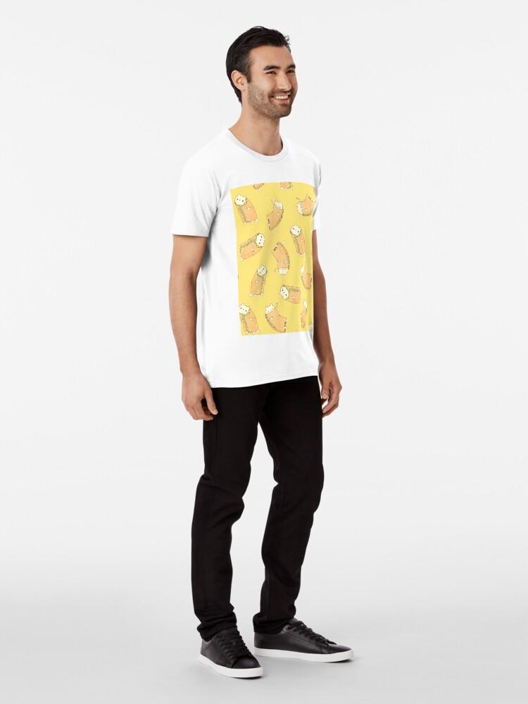 Alternate view of  Purrito - 2.0 Premium T-Shirt