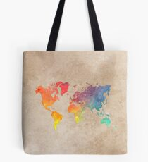 World Map maps Tote Bag