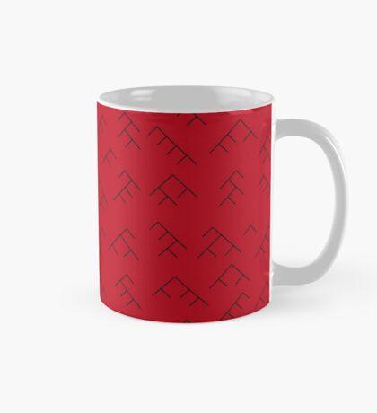 Tree diagram mug - red and black Mug