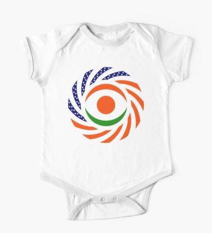 Niger American Multinational Patriot Flag Series Kids Clothes