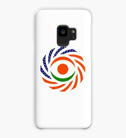 Niger American Multinational Patriot Flag Series Case/Skin for Samsung Galaxy
