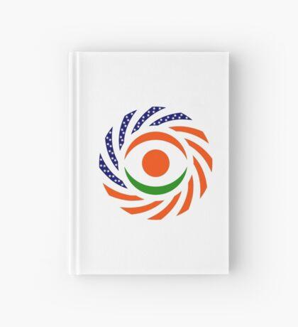 Niger American Multinational Patriot Flag Series Hardcover Journal