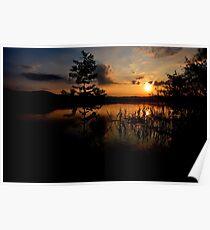 Sunset at Lake Kochelsee 03 Poster