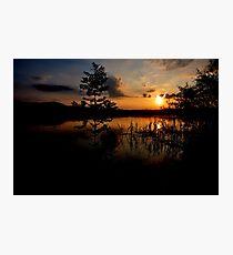 Sunset at Lake Kochelsee 03 Photographic Print