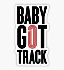 Baby Got Track Sticker