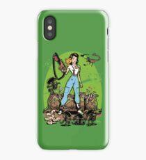 Alien Princess iPhone Case