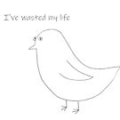 Existential crisis birb by newbs
