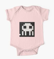 Space invader  One Piece - Short Sleeve