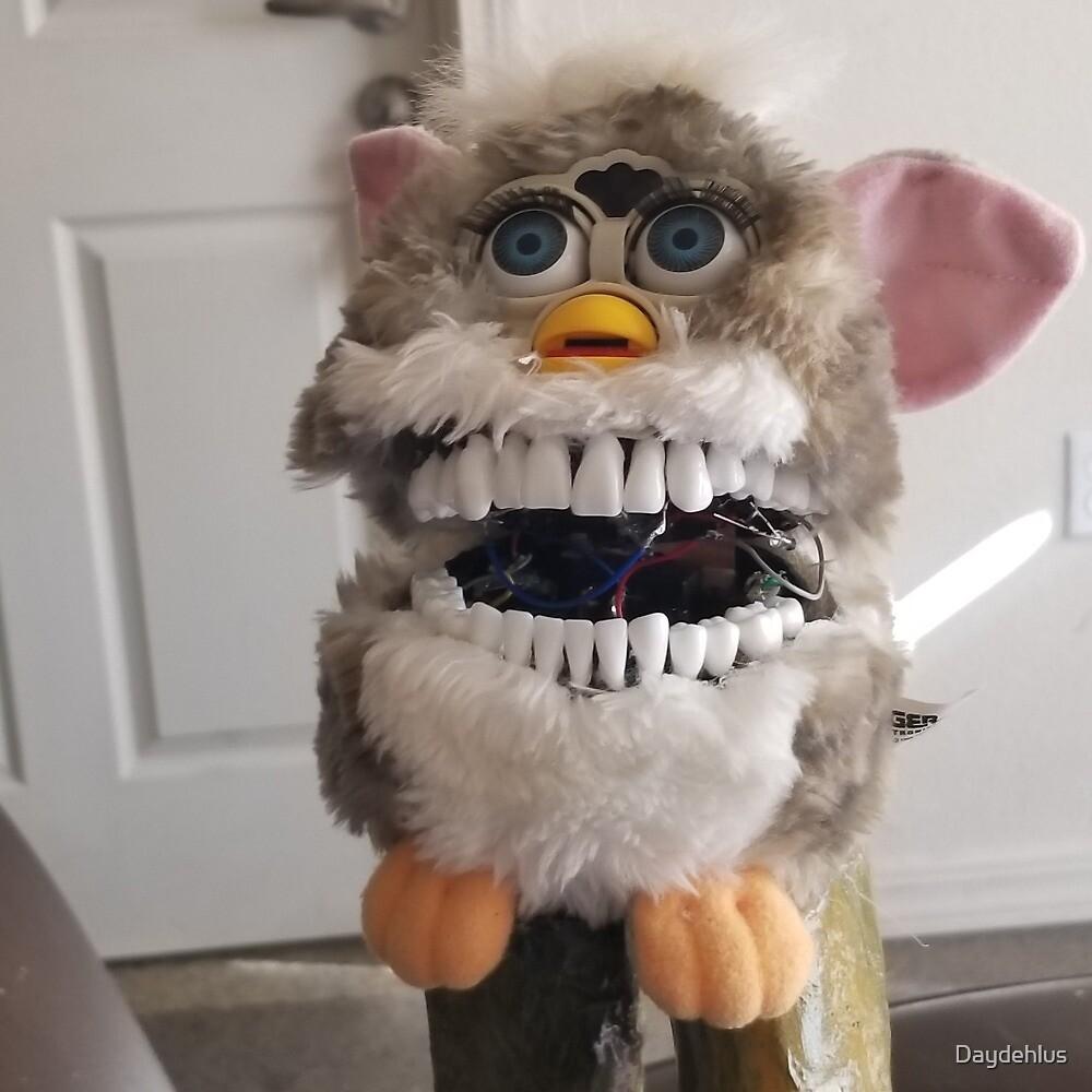 Charlie, the teeth furby by Daydehlus