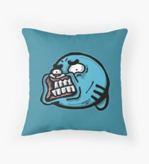 Gumball Watterson from The Amazing World of Gumball™ with a Funny Awkward Smile Throw Pillow
