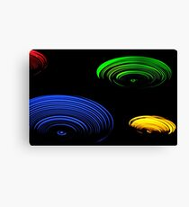The lights of home  Canvas Print