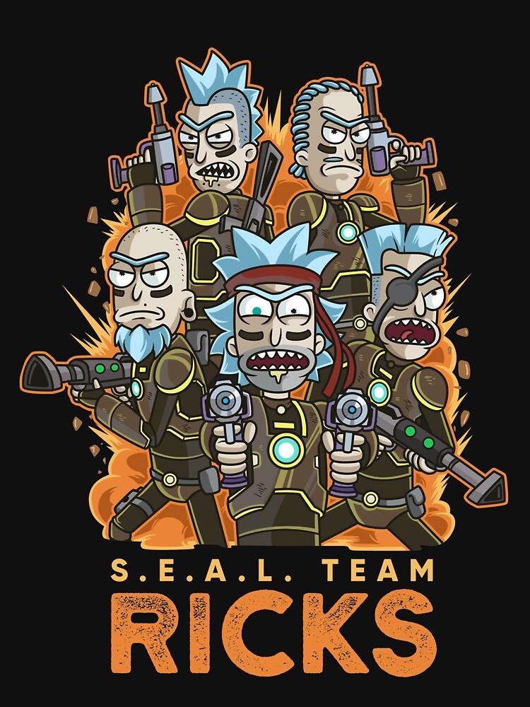 SEAL Team Ricks by B-Cubed-Shirts