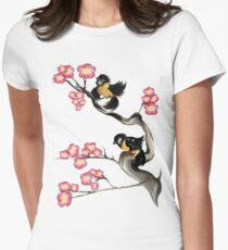 Two Sparrows On A Branch T-Shirt