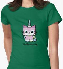 Hello Unikitty Women's Fitted T-Shirt