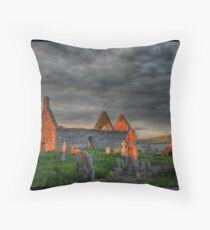 End of the end Throw Pillow