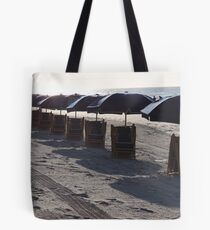 Chairs in the morning Tote Bag