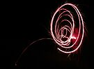 Red Spiral Flare by Aaron Campbell