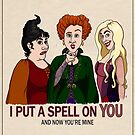 I Put A Spell On You by mikaelaK