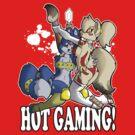 Hot gaming by TehBurningDonut