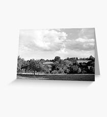 Gravure de taille Greeting Card