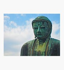 The Great Buddha of Kamakura (Kamakura Daibutsu). Photographic Print