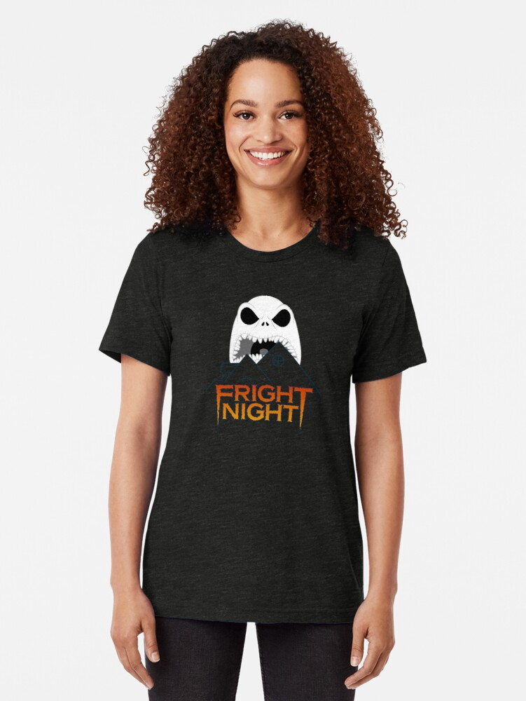 Alternate view of Fright Night Tri-blend T-Shirt