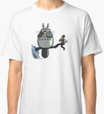 Totoro and the Doctor's Midnight Musicale Classic T-Shirt