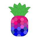 Bi-neapple > Bi Pineapple   Queer Fruit Collection by Benjamin Ace