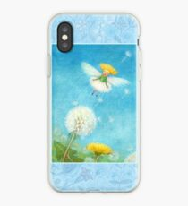 Tix - cute little dandelion-pixie iPhone Case