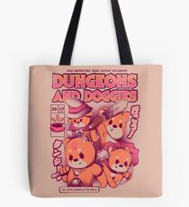 Dungeon and Doggies Tote Bag