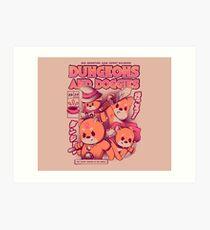 Dungeon and Doggies Art Print