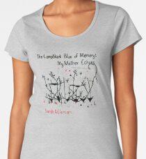 The Lampblack Blue of Memory - Cover Art Premium Scoop T-Shirt