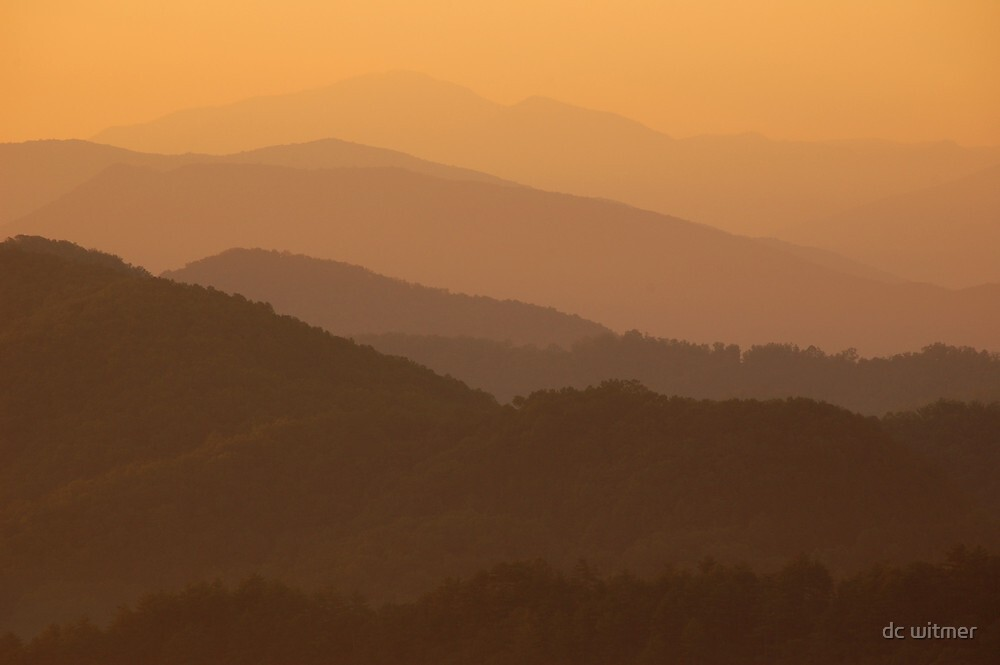sunrise at the ridges by dc witmer