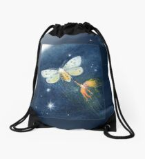 Snip - cute spark-pixie Drawstring Bag