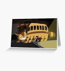 Wrong Bus Greeting Card
