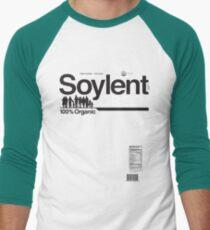Contents: Unprocessed Soylent Green (on Green) Men's Baseball ¾ T-Shirt