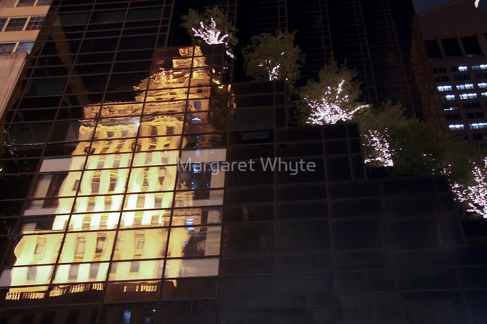 Reflecting on 5th Avenue by Margaret Whyte