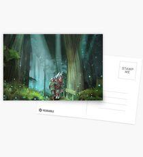 The Zelda Legend Postkarten