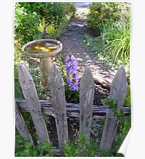 peaceful place front yard Poster