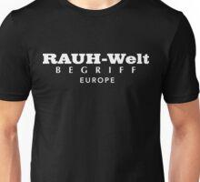 Rauh-Welt Begriff Europe Unisex T-Shirt