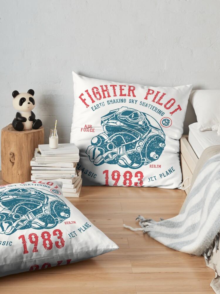 Alternative Ansicht von Fighter Pilot Bodenkissen