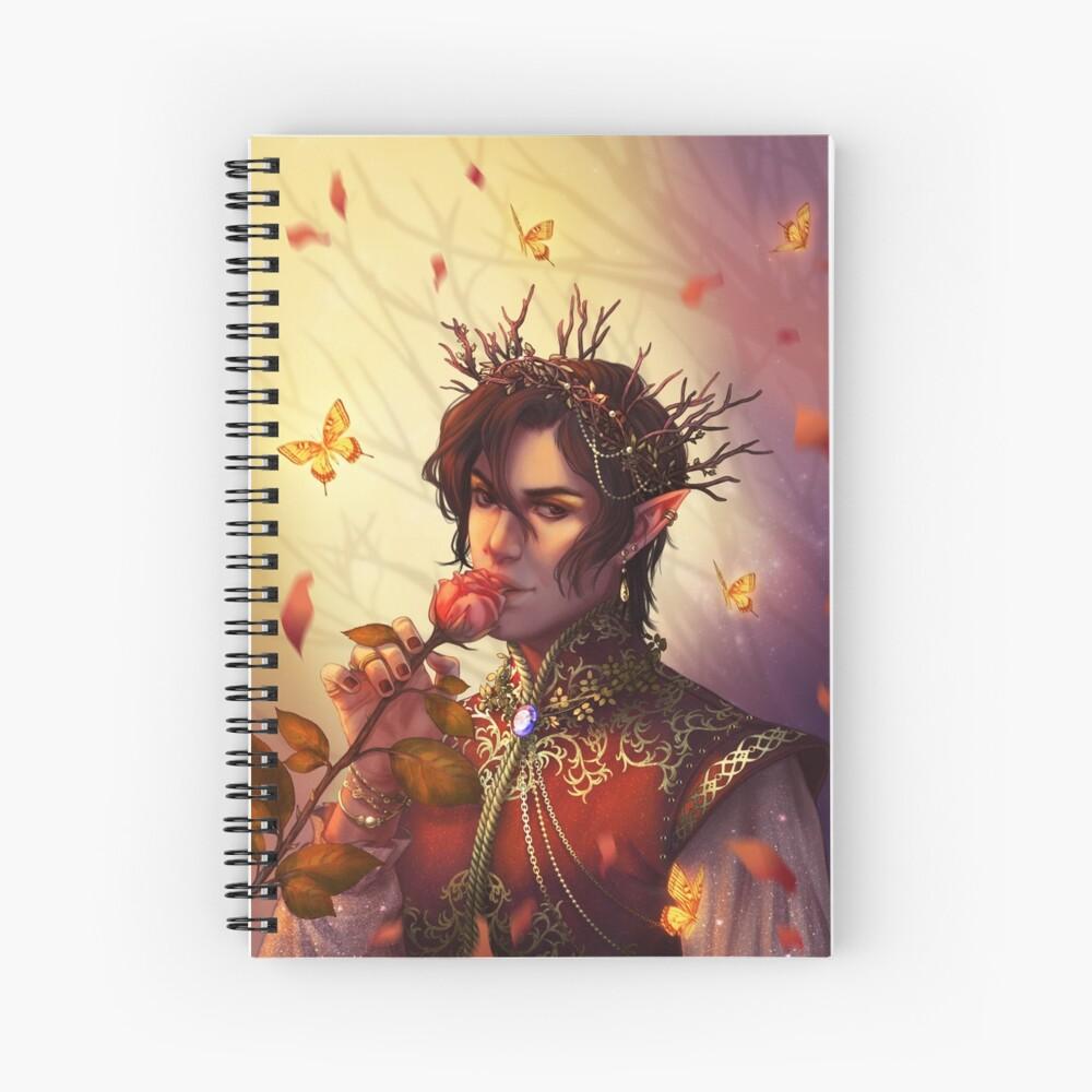 Cardan Greenbriar Spiral Notebook