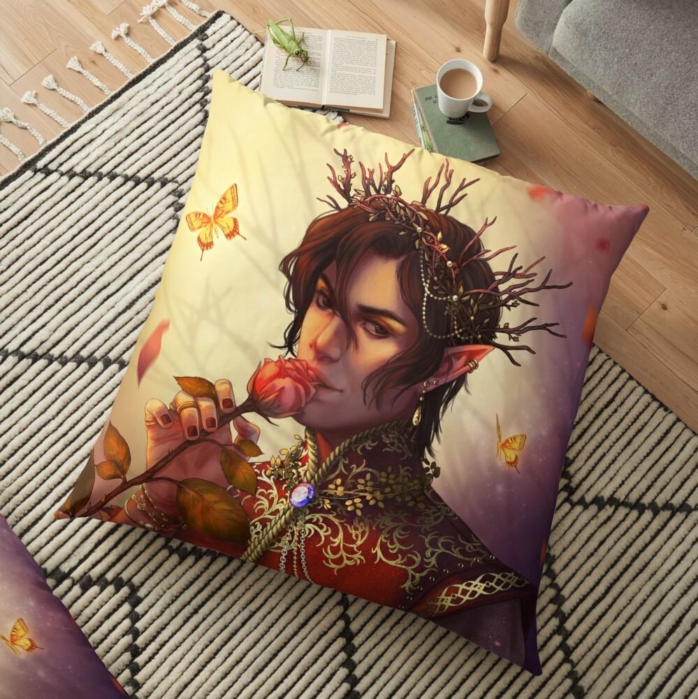 Cardan Greenbriar Floor Pillow
