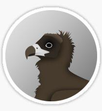 Cinereous Vulture Sticker