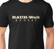 Rauh-Welt Begriff Kansai Unisex T-Shirt