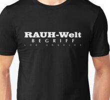 Rauh-Welt Begriff Los Angeles Unisex T-Shirt